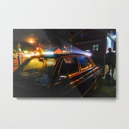 Drive-in movies Metal Print