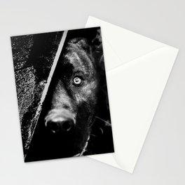 The dog (B&W) Stationery Cards