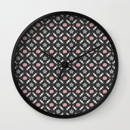 Hanami Nummies | Black Sakura Wall Clock