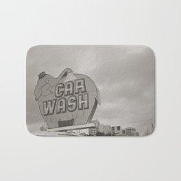 Elephant Car Wash Bath Mat