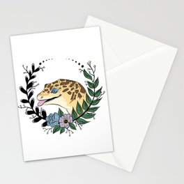 Leopard Gecko Love Stationery Cards