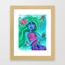 Mermi Framed Art Print