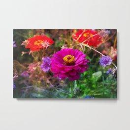 Fantastical Florals Metal Print