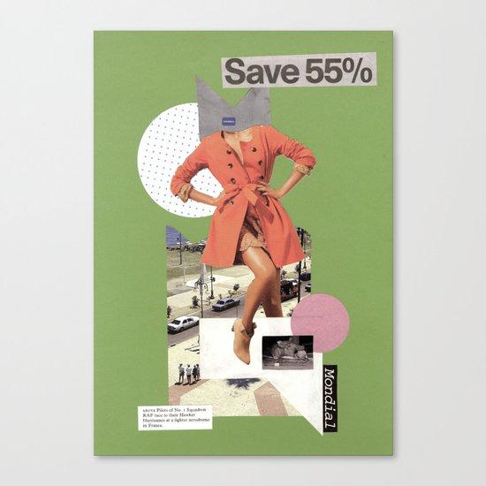 save 55 Canvas Print