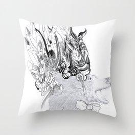 Cherokee Bear Throw Pillow