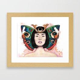 Samur-fly Framed Art Print