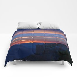 Colorful Sunset - North_Rim, Grand_Canyon, AZ Comforters