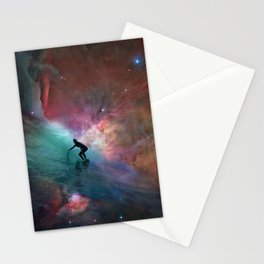 Nebulous Surfing Stationery Cards