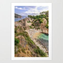 Tossa de Mar Art Print