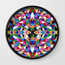 Kaleidoscope III Wall Clock