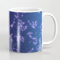 constellation Mugs featuring CONSTELLATION by CLUB GALAXY