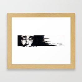 Fright Framed Art Print