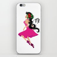 virgo iPhone & iPod Skins featuring Virgo by Rejdzy