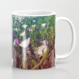 Field of Pink Evening Primrose - Texas Wildflowers Coffee Mug