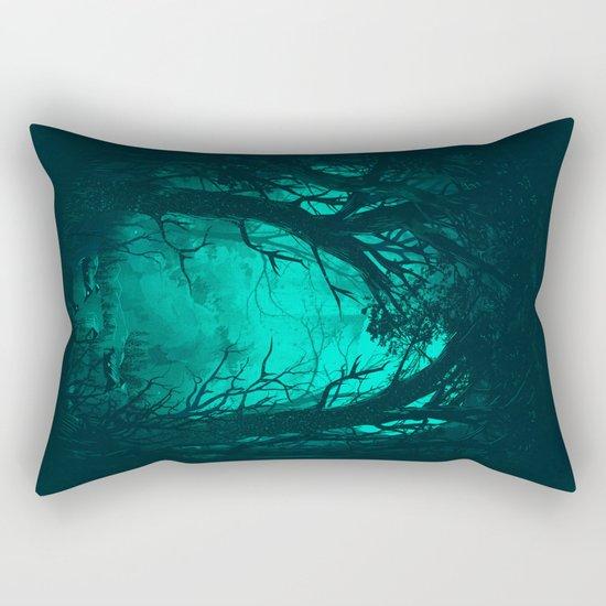 The Hiding Place Rectangular Pillow
