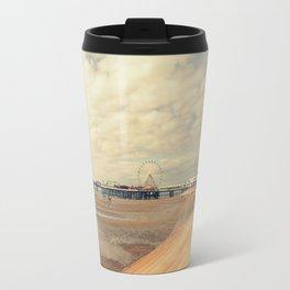 Blackpool Beach Travel Mug