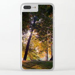 Morning Rays Clear iPhone Case