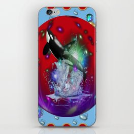 Orca ballena asesina iPhone Skin