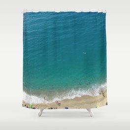 Italian Beach 1 Shower Curtain