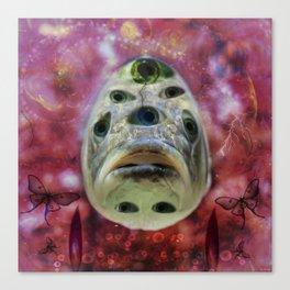 Tripfish One Canvas Print