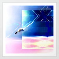 spacejet Art Print