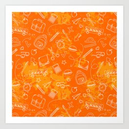 School chemical #5 Art Print