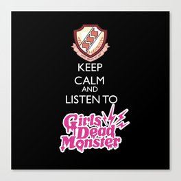 Angel beats! - Girls dead monster Canvas Print