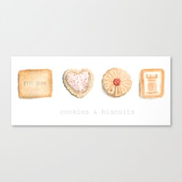 Cookies & Biscuits  Canvas Print