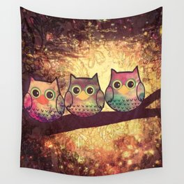 owl 139 Wall Tapestry