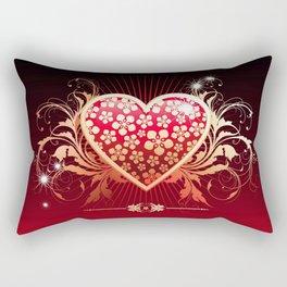 Surely his heart Rectangular Pillow