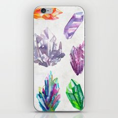 Watercolor Crystals iPhone & iPod Skin