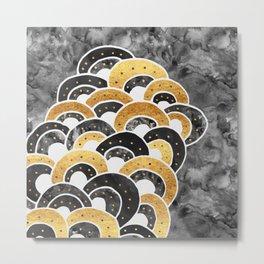 Goldie Luxe Metal Print