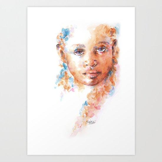 Hidden Tears Art Print