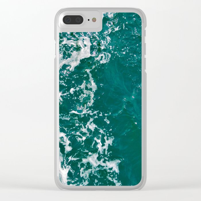 Emerald Waters Clear iPhone Case