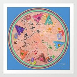 Mandala Art Print