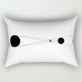 Icon of Eclipse Rectangular Pillow