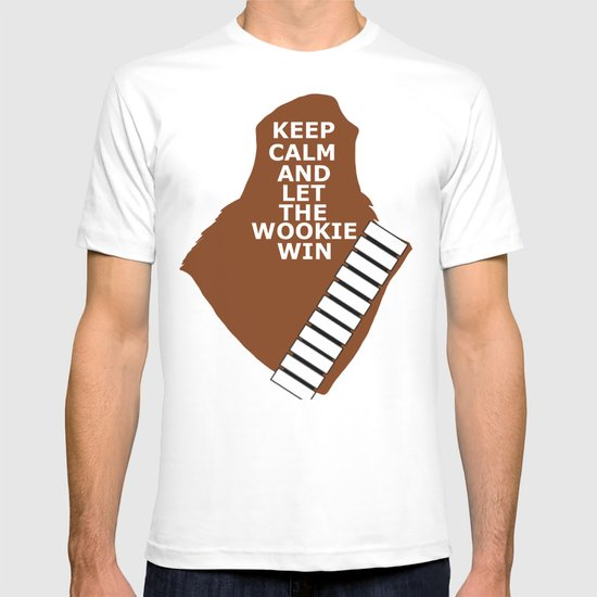 let the wookie win T-shirt