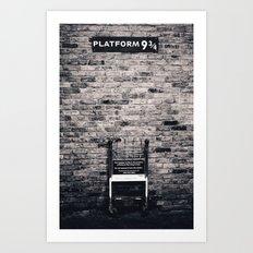 Platform 9 & 3/4 II Art Print