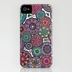 Psychedelic Flowers iPhone (4, 4s) Slim Case