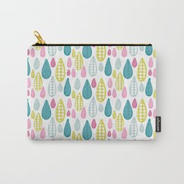 Summer Raindrops Carry-All Pouch