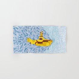 My Yellow Submarine Hand & Bath Towel