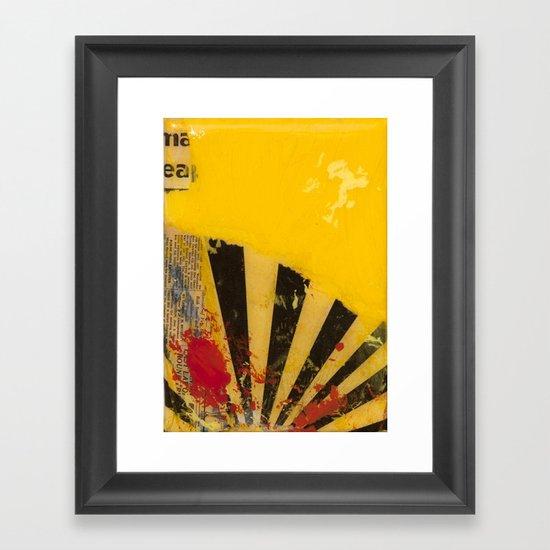 YELLOW5 Framed Art Print