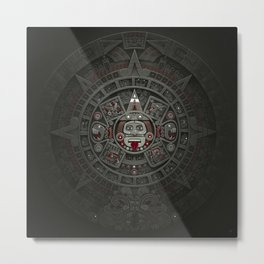 Stone of the Sun I. Metal Print