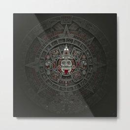 Stone of the Sun I. Metal Print