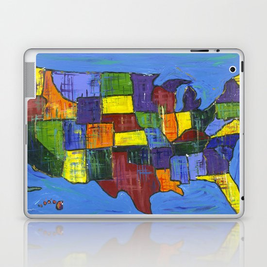 U.S.A. Laptop & iPad Skin