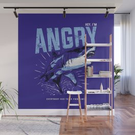 Hey, I'm ANGRY Wall Mural
