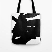 mother Tote Bags featuring mother by ARTbyJWP