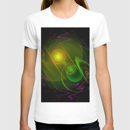 Abstract in perfection - Space T-shirt