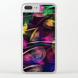 What the Wind Said Clear iPhone Case