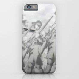 Marching Soldiers iPhone Case